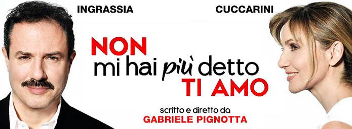spettacolo Non mi hai piu' detto TI AMO con Lorella Cuccarini e Giampiero Ingrassia