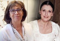 Aurora Marsotto e Carla Fracci