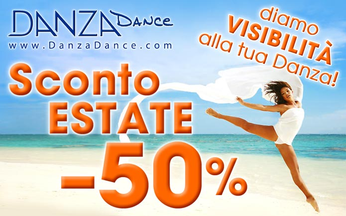 SCONTO ESTATE Danza
