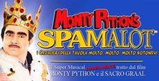 spettacolo SPAMALOT musical
