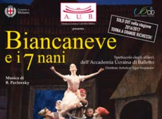spettacolo Balletto BIANCANEVE e i 7 nani