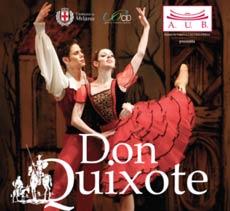 spettacolo Balletto DON QUIXOTE
