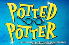 spettacolo a teatro POTTED POTTER