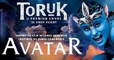 spettacolo TORUK Avatar Cirque Du Soleil