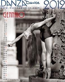 Calendario Danza 2012