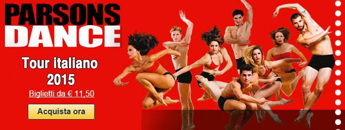 spettacolo danza Compagnia PARSONS DANCE