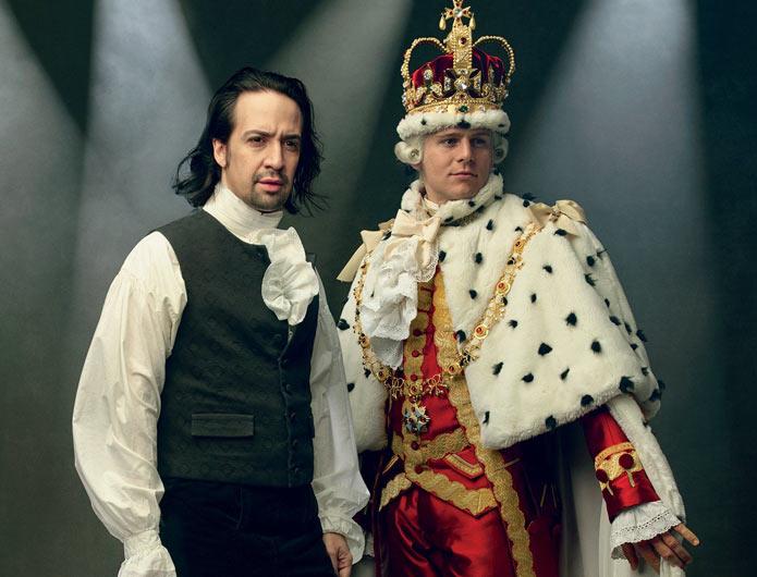 HAMILTON musical spettacolo a teatro - www.DanzaDance.com