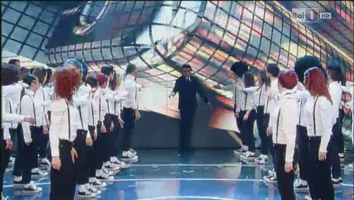 LA PISTA programma danza su Rai TV