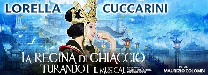 spettacolo La Regina di Ghiaccio musical